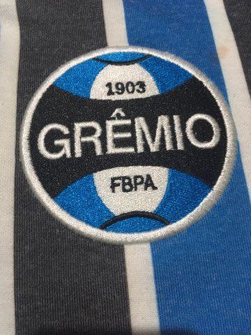 Camiseta retrô do Grêmio com ingresso  - Foto 5