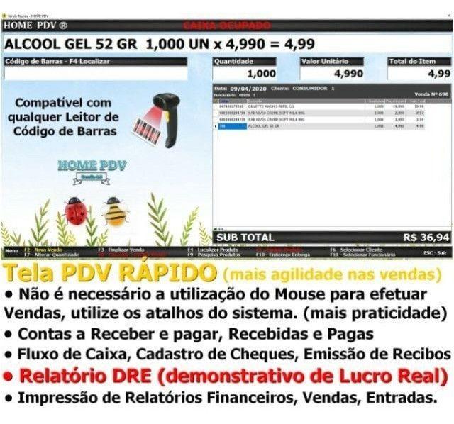 Frente de Caixa, Software PDV, Controle Estoque, Financeiro, Despesas - Manaus - Foto 2