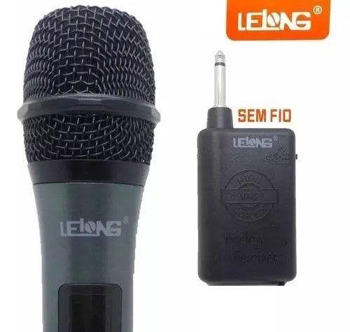 Microfone lelong sem fio ( novo )
