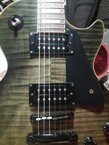 Guitarra Les Paul Epiphone TransBlack. Negocio à vista