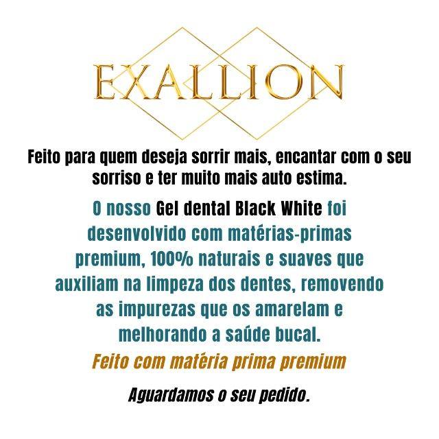 Gel Dental Clareador Com Carvão Ativado ''Vitae Black White'' - Foto 5