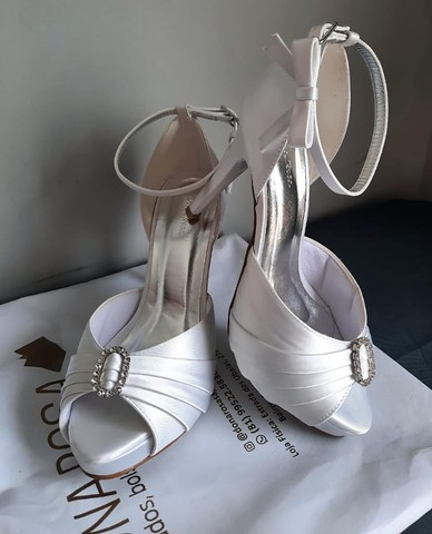 Sandália de Noiva Dona Rosa Número 37