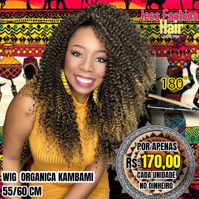 Wig KamBami fibra Futura R$:170,00 - Foto 6