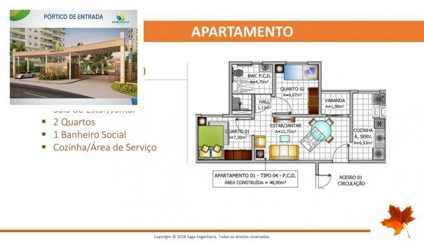 BELLEVILLE - Apartamento em Lançamentos no bairro Forquilha - São Luís, MA - Foto 12