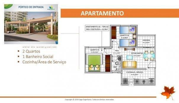BELLEVILLE - Apartamento em Lançamentos no bairro Forquilha - São Luís, MA - Foto 10