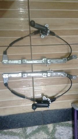 Máquina de vidro traseiro manual Siena
