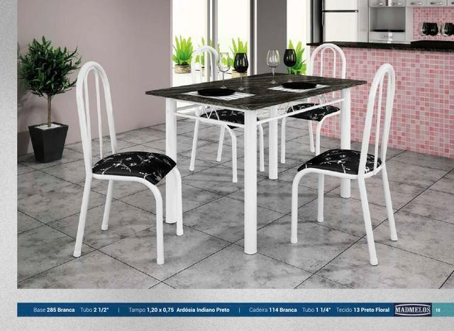 Mesa 4 cadeiras em oferta