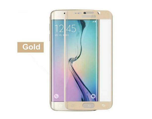 Película Protetora Galaxy S6 Edge Curva Vidro Temperado+case - Foto 3
