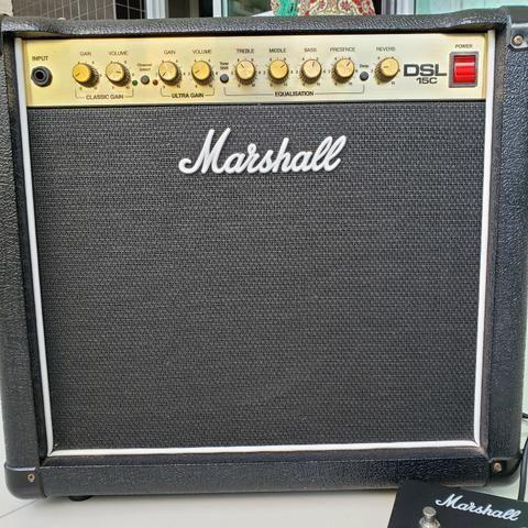 Marshall DSL 15C - Combo valvulado 15W 1x12 - Foto 3