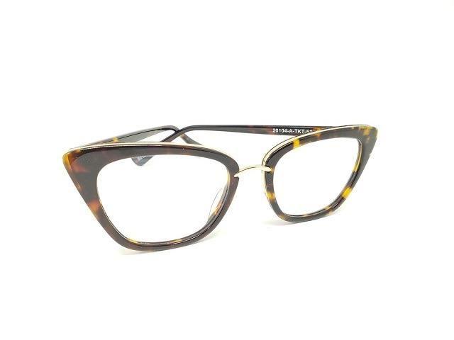 a7c16fdc7 Óculos Armação De Grau Retro Gatinho Tartaruga KTK-52p - Bijouterias ...