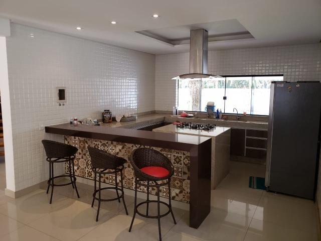 Samuel Pereira oferece: Mansão Moderna Vicente Pires 3 Piscinas 5 Suites Churrasqueira - Foto 10