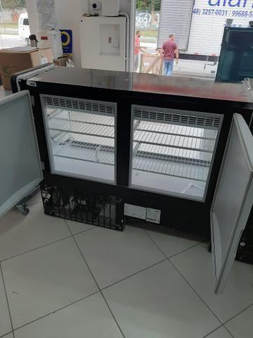 Vitrine refrigerada 1,25 com luz de led 47- * jean - Foto 3