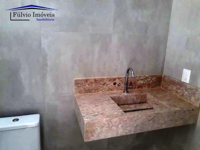 Casa Moderna! 03 suítes com closet e área de lazer completa. Vicente Pires! - Foto 9