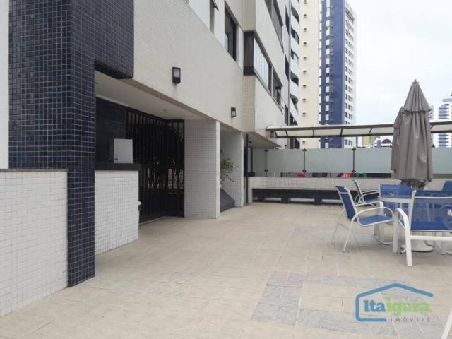 Apartamento com 3 dormitórios à venda, 100 m² por r$ 570.000,00 - cidade jardim - salvador - Foto 19