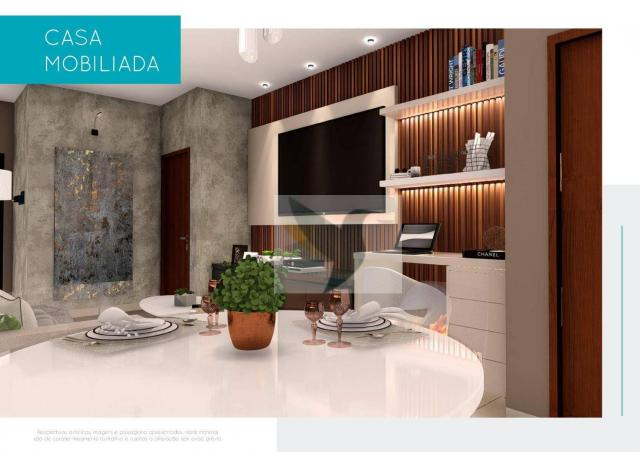 Casa com 3 dormitórios à venda, 135 m² por r$ 560.621 - jardim da mata ii - Foto 2