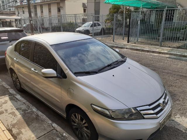 Honda City LX Flex Aut. 2013/2014, prata, único dono, 48.000 km - Foto 2