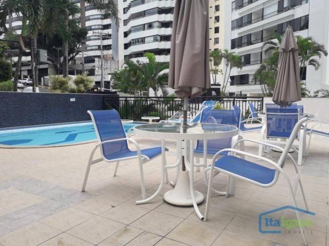 Apartamento com 3 dormitórios à venda, 100 m² por r$ 570.000,00 - cidade jardim - salvador - Foto 9