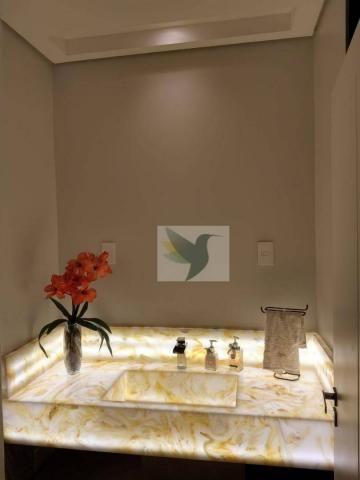 Casa com 3 dormitórios à venda, 270 m² por r$ 1.980.000 - village do cerrado i - rondonópo - Foto 12