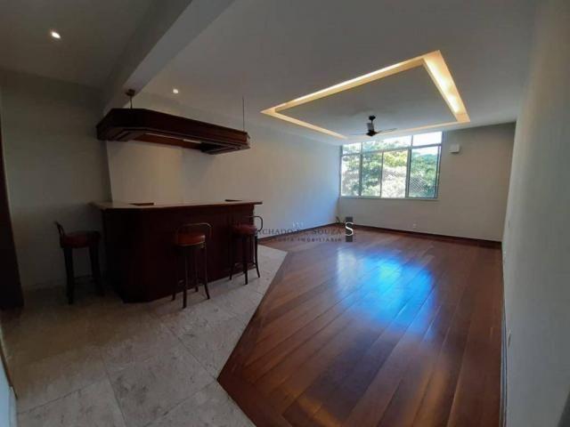 Apartamento com 3 dormitórios para alugar, 130 m² por R$ 3.700/mês - Laranjeiras - Rio de  - Foto 18