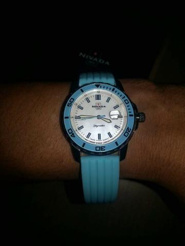 93b41ec2e85 Relógio Nivada Swiss Skymaster Feminino - Bijouterias