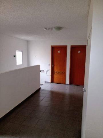 Apartamento com 2 dormitórios para alugar, 45 m² por R$ 650/mês - Água Chata - Guarulhos/S - Foto 2