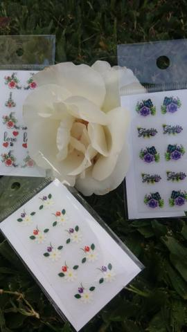 Adesivos para manicure - Foto 2