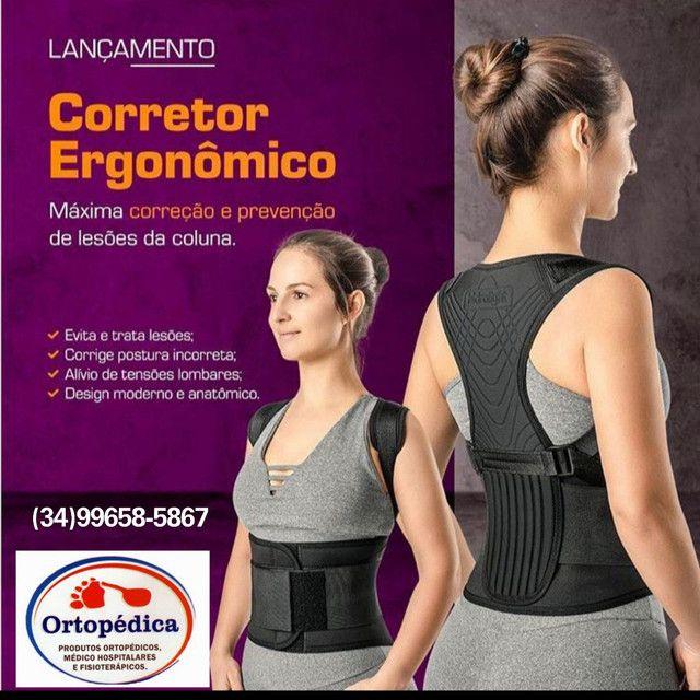 Corretor postural ergonômico