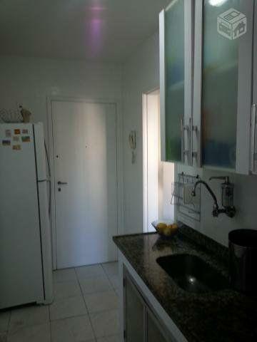 Metrô na porta - Lindo ap 2 quartos (reversível p/ 3),dependência c/ banheiro, reformado - Foto 4
