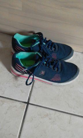Tênis femenino fitnes (usado) - Foto 2