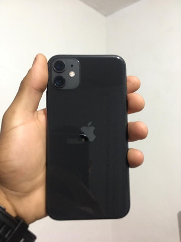 IPhone 11 64gb Preto Garantia 2021