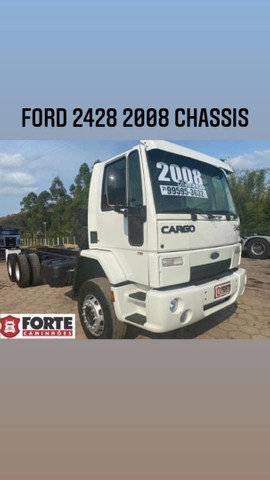 Ford cargo 2428 2008 truck no chassis