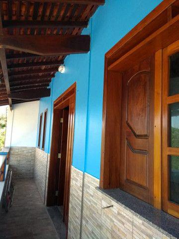 Smith House, bela vista panorâmica para a praia do Araçagi