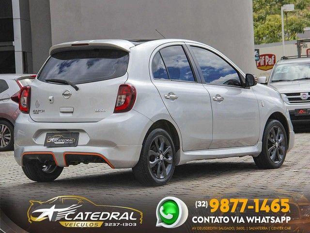Nissan MARCH Rio2016 1.6 Flex Fuel 5p 2016 *Novíssimo* Aceito Troca - Foto 6