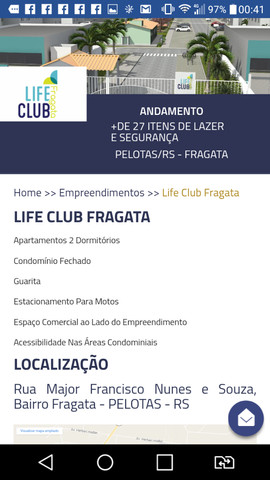 Apartamento condomínio térreo PNE Life Clube Fragata - Foto 2