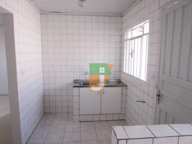 Casa com 1 dormitório para alugar, 50 m² por R$ 890,00/mês - Uberaba - Curitiba/PR - Foto 6