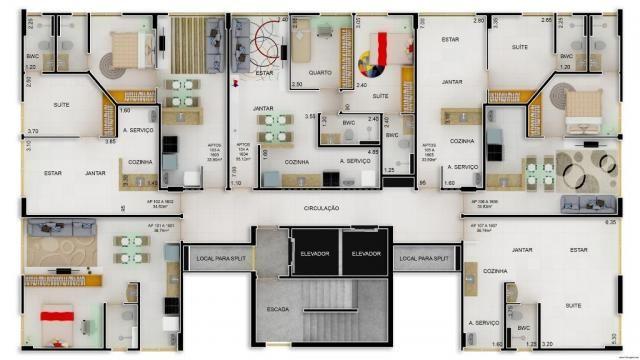 Apartamento com 1 ou 2 quartos em Olinda - Foto 3