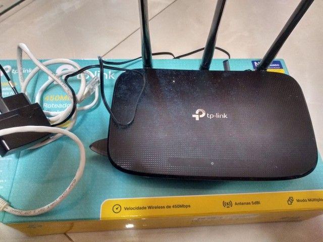 Roteador wireless TP-Link vc na caixa - Foto 3