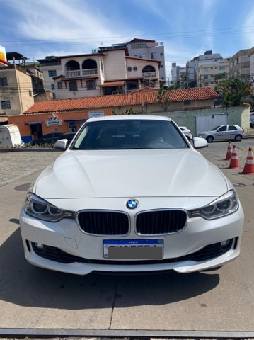 BMW 320i apenas 65.000 km branco pérola 2014 - Foto 2