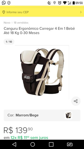 Carregador bebê conforto - Foto 3