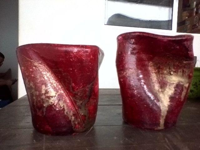 Vendo vasinhos decorativos - Foto 5