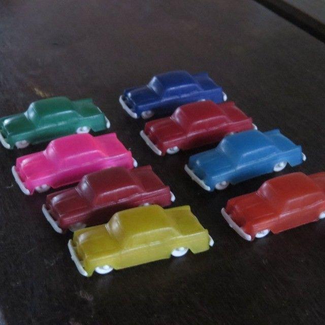 carrinhos de plástico antigos modelo da promoção toddy  - Foto 5