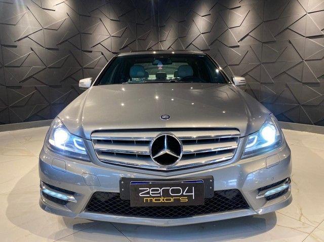Mercedes-Benz C250 CGI SPORT 1.8 16V TB Automático 2013/2013 configuração Linda  - Foto 4
