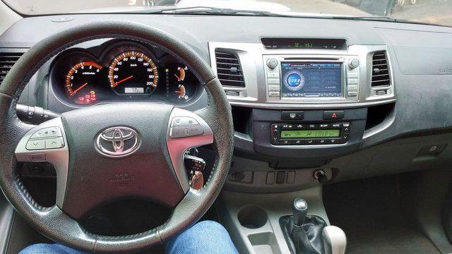 Hilux CD SR Com todos opcionais da SRV - Foto 6
