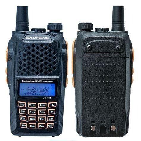Rádio Ht Uv-6r Comunicador Baofeng Dual Band Uhf + Vhf 7w - Foto 4