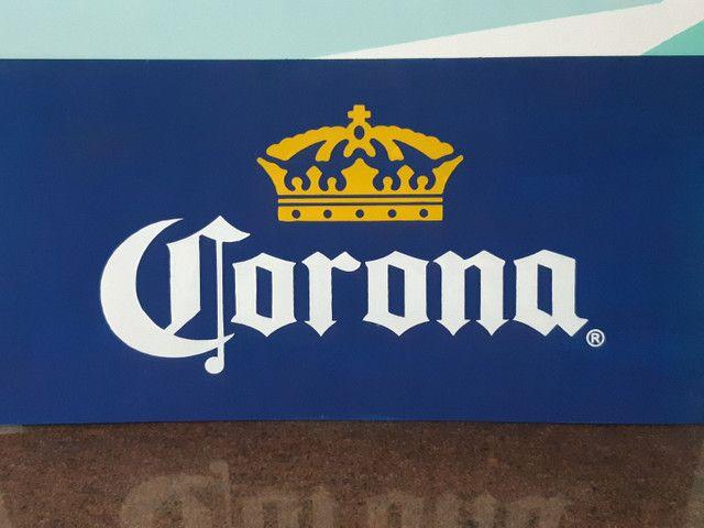 Corona letreiro/placa - Foto 5
