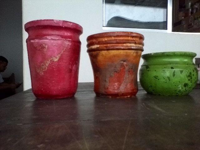 Vendo vasinhos decorativos - Foto 2