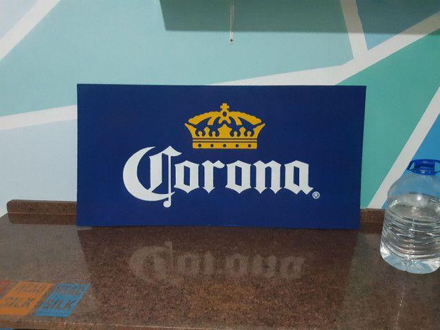 Corona letreiro/placa - Foto 2