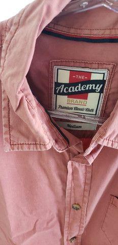Camisa academy manga curta - Foto 2