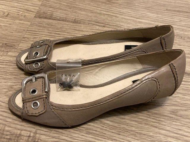 Sapato tamanho 37-38 Zara Novo! - Foto 2