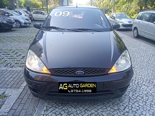 Ford Focus 2009 Hatch Gl 1.6 8v flex+completíssimo+revisado+novíssimo!!! - Foto 3